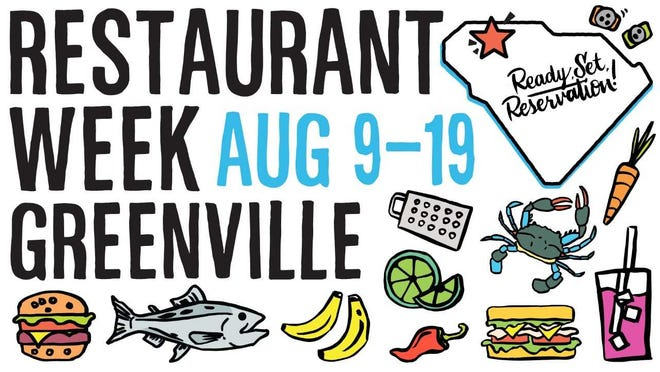 Restaurant Week Greenville this year will include nearly 60 local restaurants.