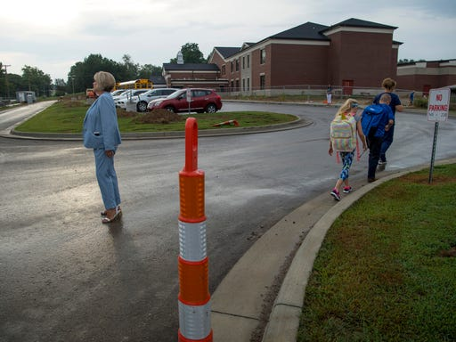 First day of school feature story: Spottsville