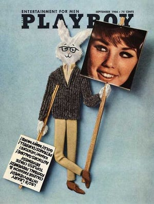 The cover of the September 1966 issue of Playboy featured Playmate Dianne Chandler, who visited Henderson Aug. 17, 1968, to help local teenagers raise money to build what is now The Gathering Place in Atkinson Park.