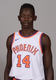 Peter Jok was hoping to make the Phoenix Suns' roster as a rookie, but got waived before the season. He's sticking with the Suns' G League team entering Year Two as a pro.