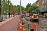 Improvements along the Monon Trail between Main and 126th streets continue to reshape the look of Midtown Carmel.