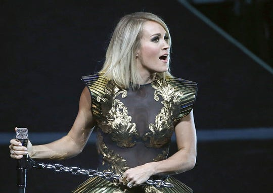 Carrie Underwood will perform June 16, 2019, at Bankers Life Fieldhouse