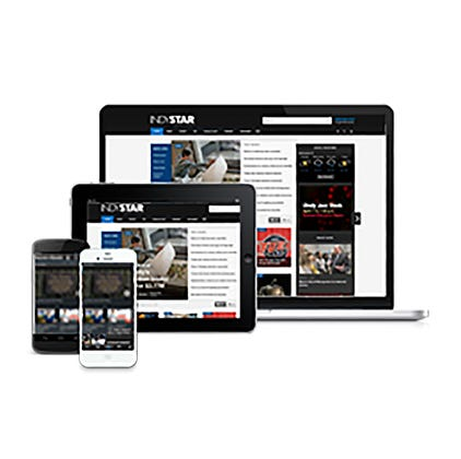 IndyStar content is available on multiple platforms including desktop computers, tablets and mobile phones.