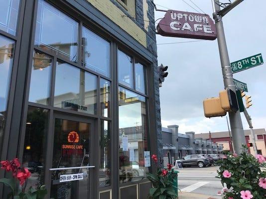 Sunrise Cafe Sign
