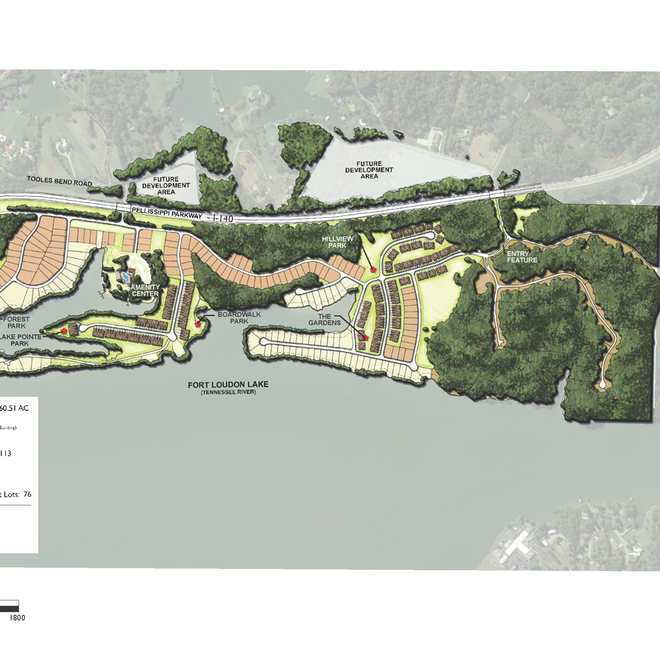 Southwest Knoxville's Tooles Bend development plans draw foes to MPC