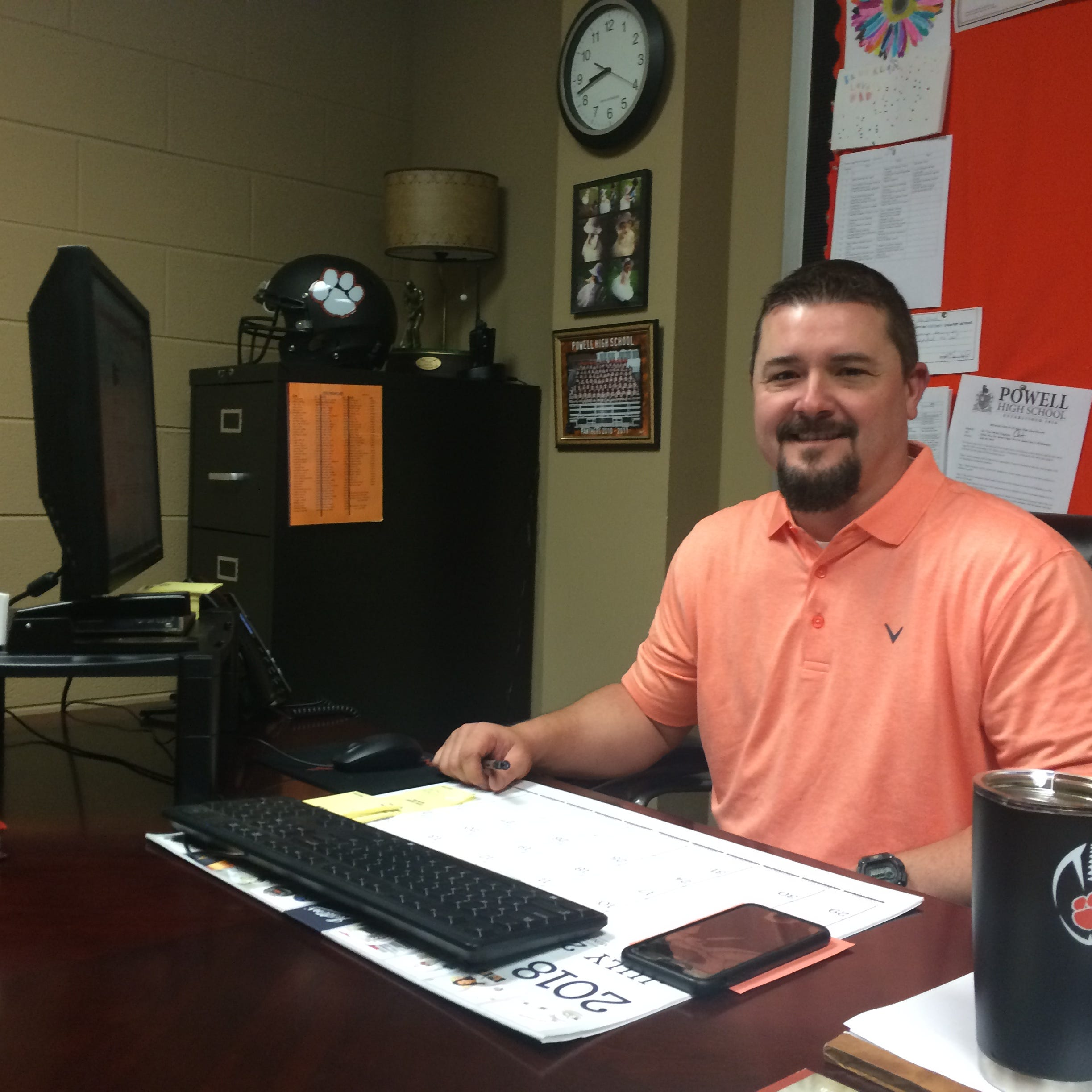 As ex-coach, Powell High AD Chad Smith sets a high bar