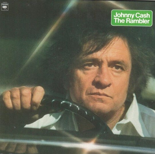 "Johnny Cash's ""The Rambler"" album was released in 1977 and contains the song, ""If It Wasn't for the Wabash River."""