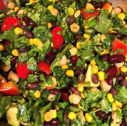 Iron-Boosting Southwest Salad