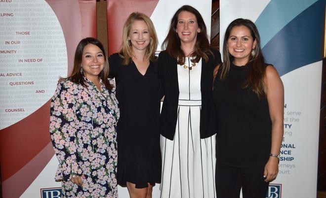 Antoinette Guthrie, Sara Zuschlag, Jaclyn Bacon and Emily Tate