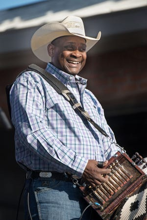 Geno Delafose and French Rockin' Boogie perform Sept. 1 at the 36th Annual Original Southwest Louisiana Zydeco Music Festival in Opelousas.