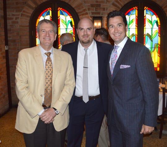 Hon. David Blanchet, Derek Aswell and Blake David