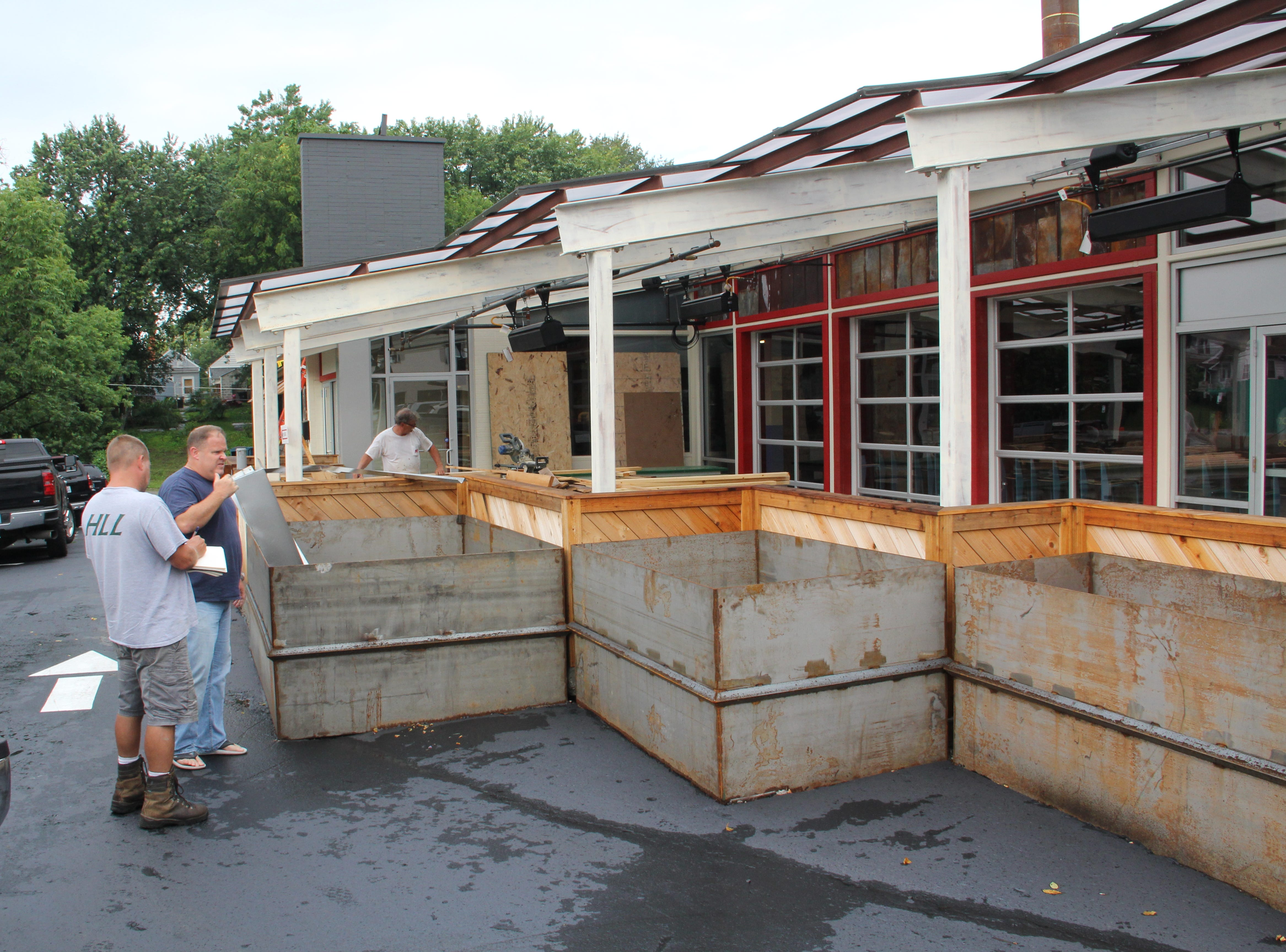 Pat Martin opened his first Martin's Bar-B-Que Joint in 2006. This is the sixth location, and the second one for Louisville.