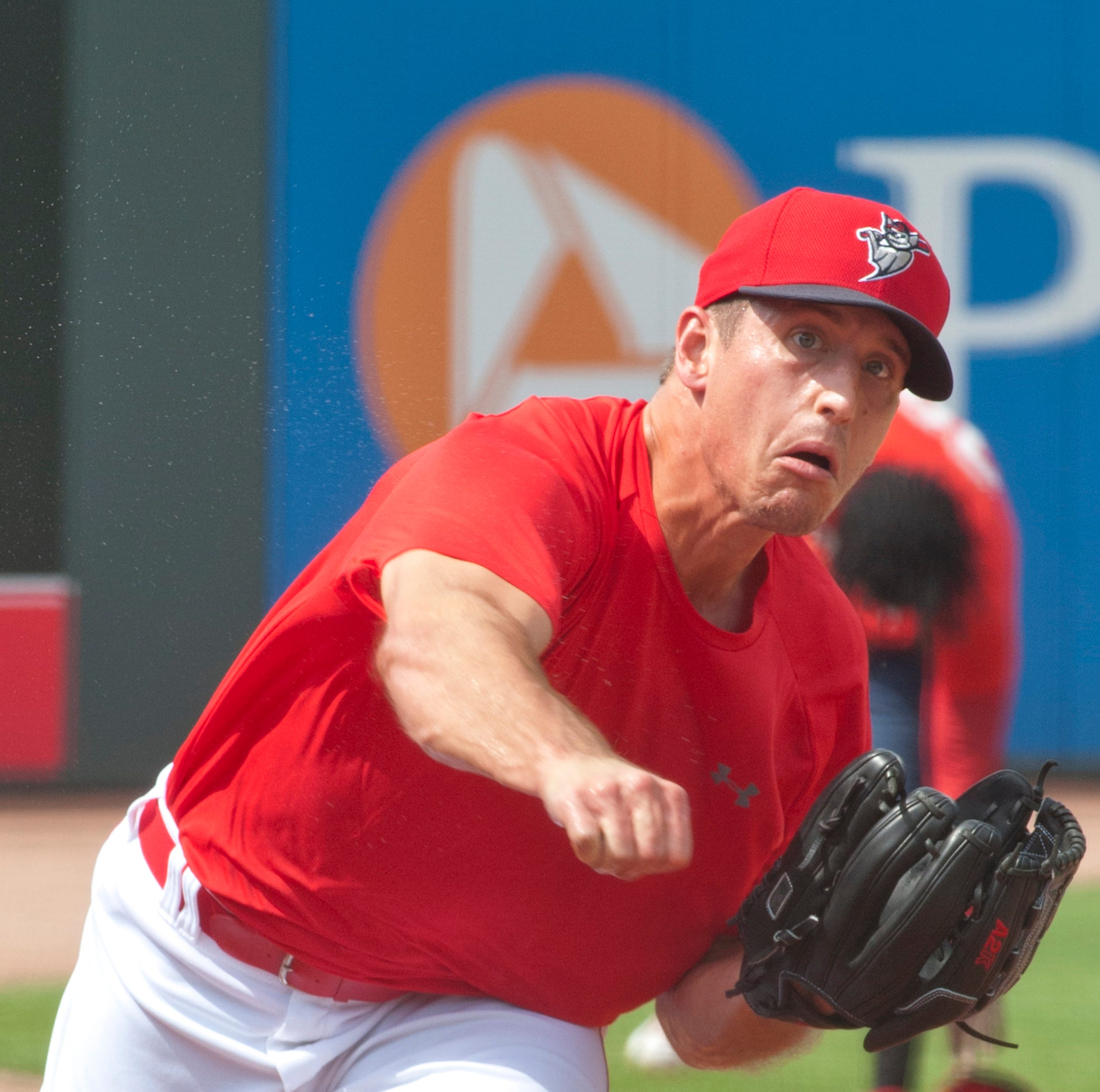 Louisville Bats' Lucas Sims 'taking one baby step at a time' back to Cincinnati Reds