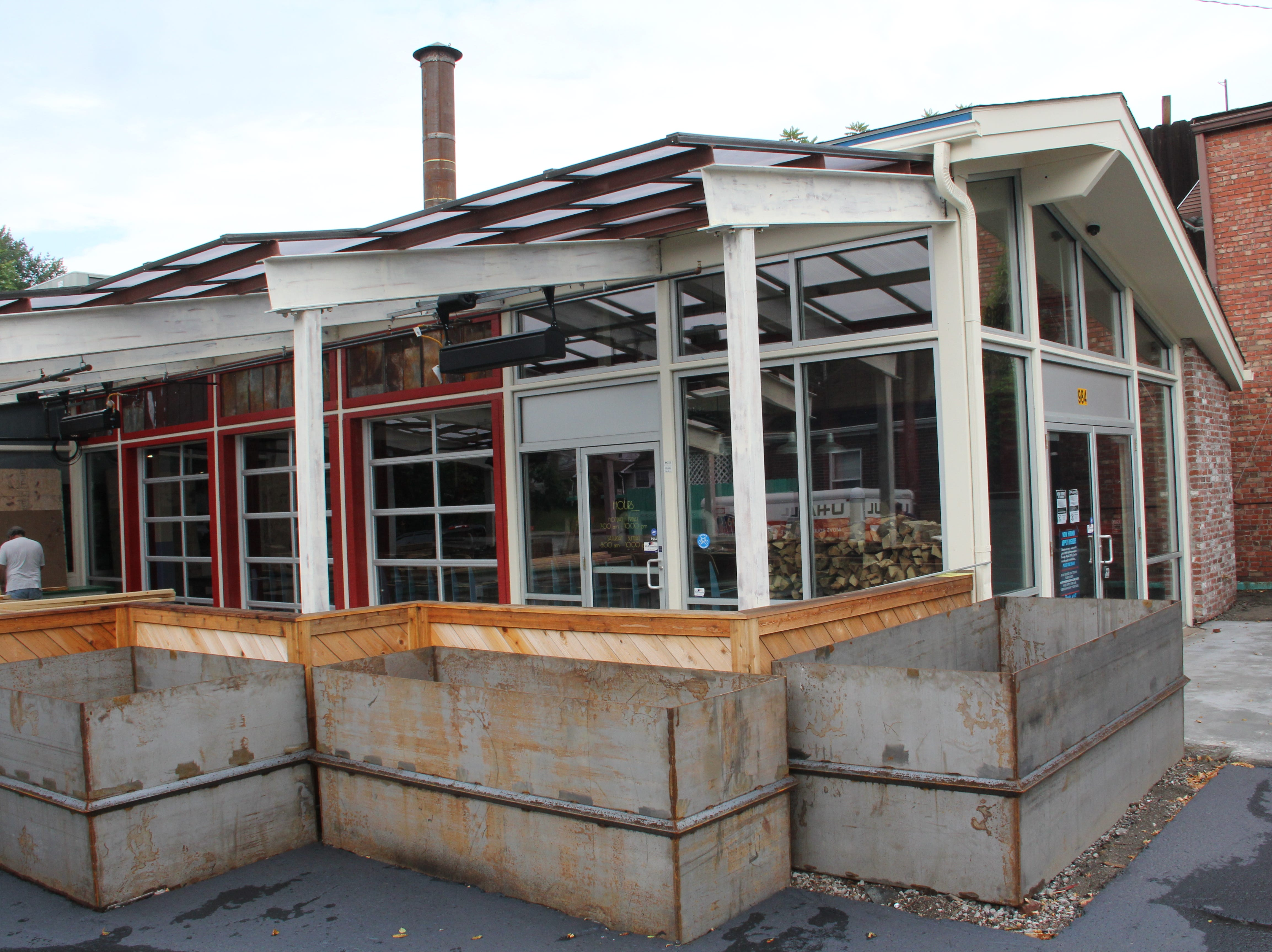 The new Martin's Bar-B-Que will open in the Highlands neighborhood in a few weeks, owner Pat Martin said. Construction is still ongoing.