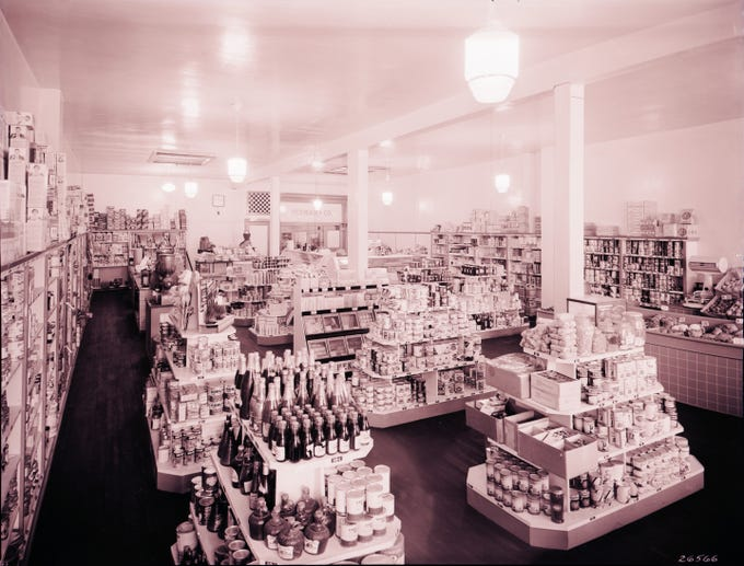 Beeman & Co. grocery, undated photo.