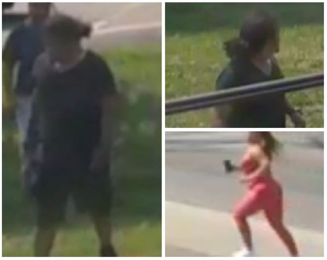 Shown are suspects in the crash of a car into the Family Dollar store in South Lansing on Aug. 4.