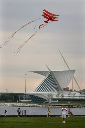 The Frank Mots International Kite Festival takes wing above Veterans Park Sept. 11 and 12.