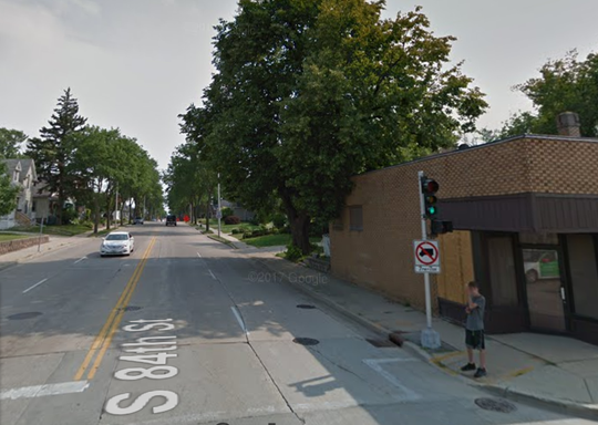 A grandmother was jerked to the ground by a purse snatcher while she walked her dog on 84th Street south of Becher Street shortly before 7:30 p.m. Monday, Aug. 6.
