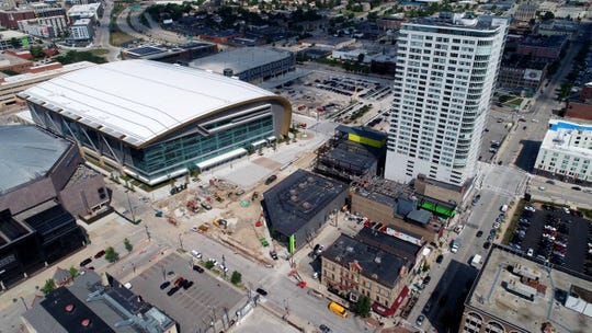 Fiserv Forum, the Milwaukee Bucks' new home, is hosting an open house and block party Sunday.