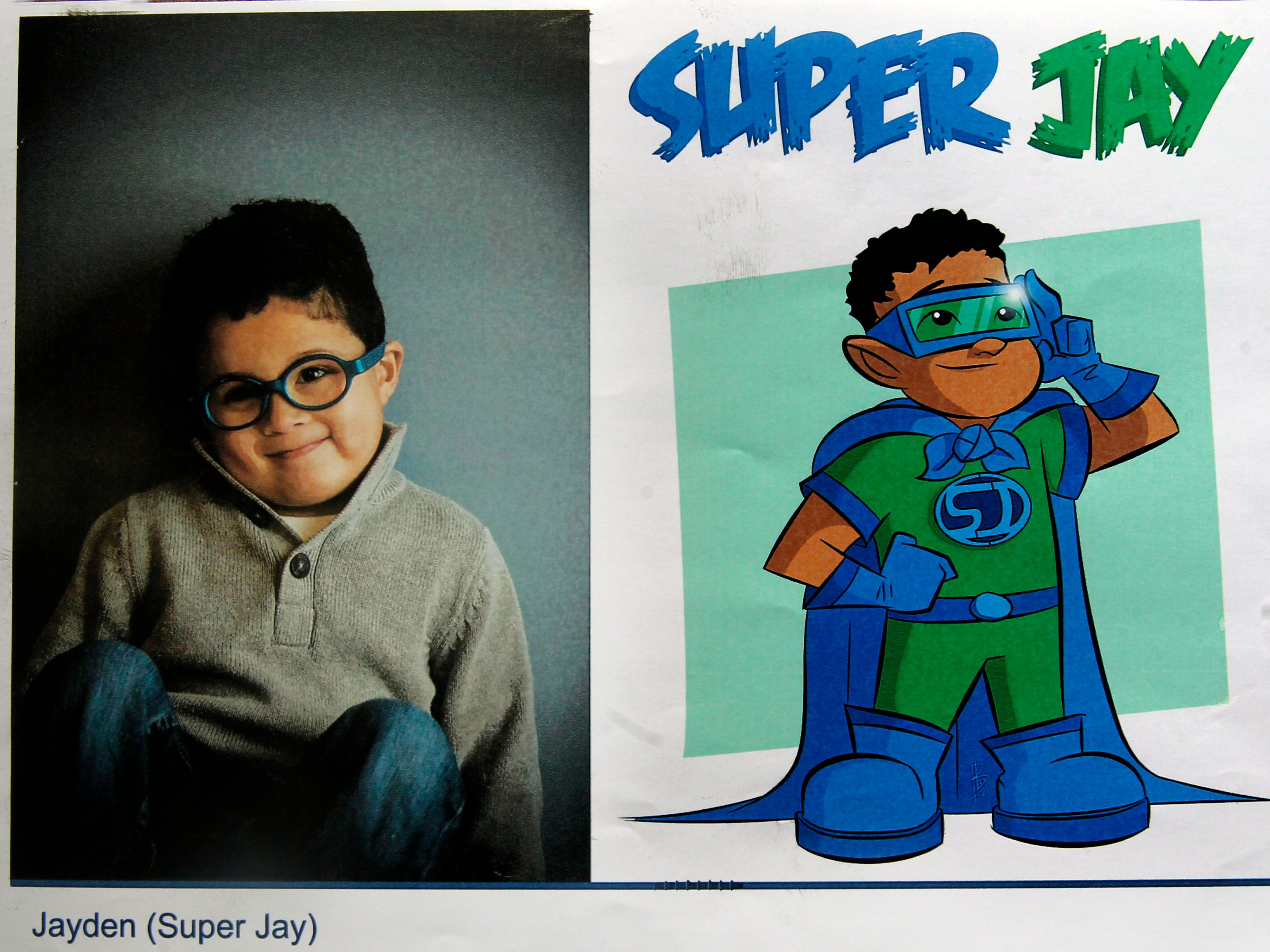 Super Jay is a superhero identity created by Bryan Dyer, owner of You Are the Hero.
