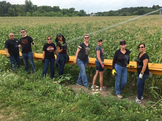 The Harley-Davidson Foundation is the main sponsor for a 200-acre working farm run by the Milwaukee-based Hunger Task Force, a nonprofit that supplies food pantries, soup kitchens, homeless shelters and public schools in the metro region.