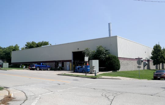 The exterior of the Mid-America Steel Drum plant on South Pennsylvania Avenue in St. Francis. The company is installing new pollution-control equipment.