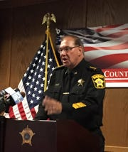 Milwaukee County Acting Sheriff Richard Schmidt said Wednesday that his deputies do not enforce federal immigration laws and do not question the public about their immigration status. Schmidt spoke at a news conference at the Safety Building.