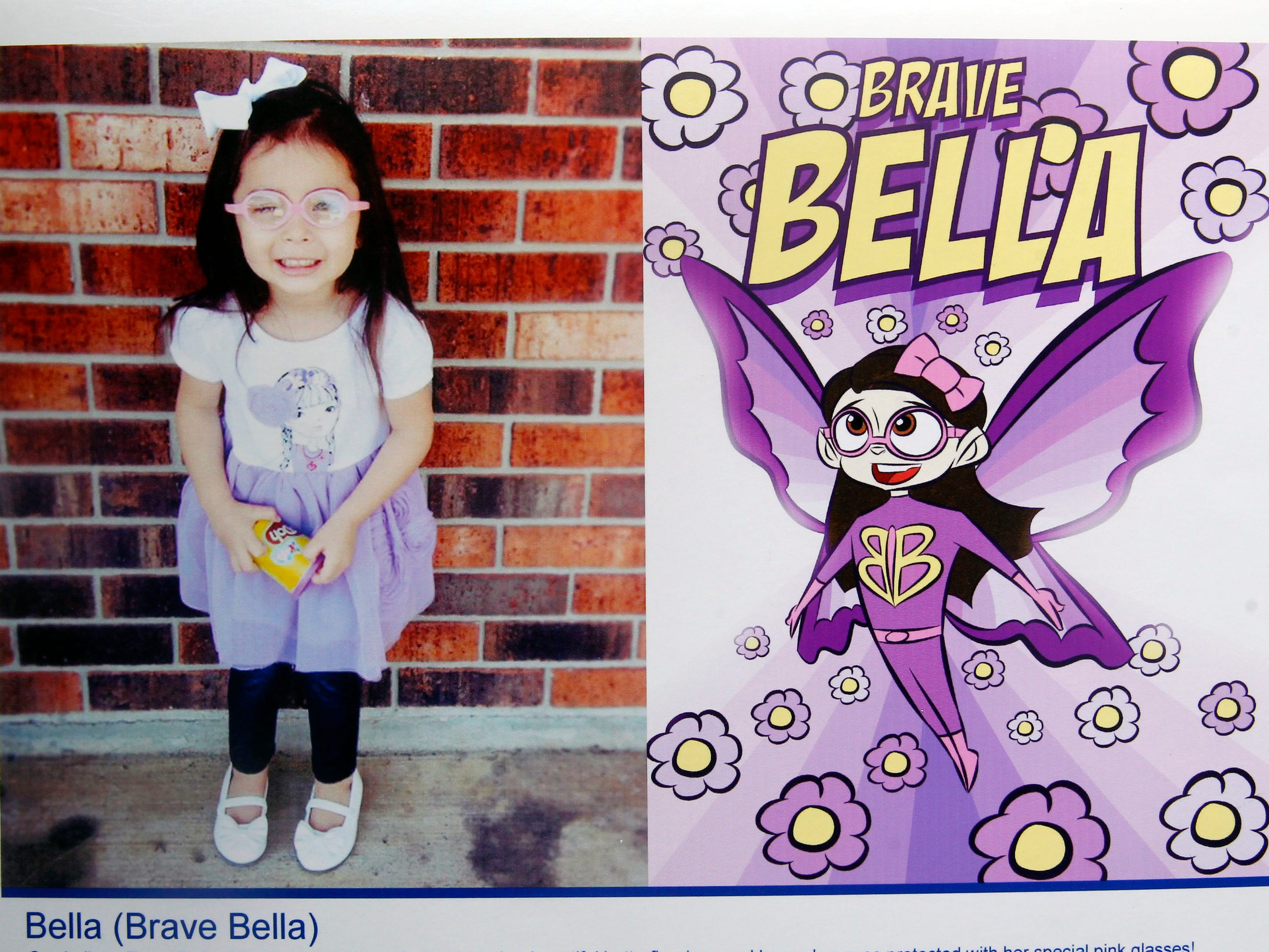 Brave Bella is a superhero identity created by Bryan Dyer, owner of You Are the Hero.