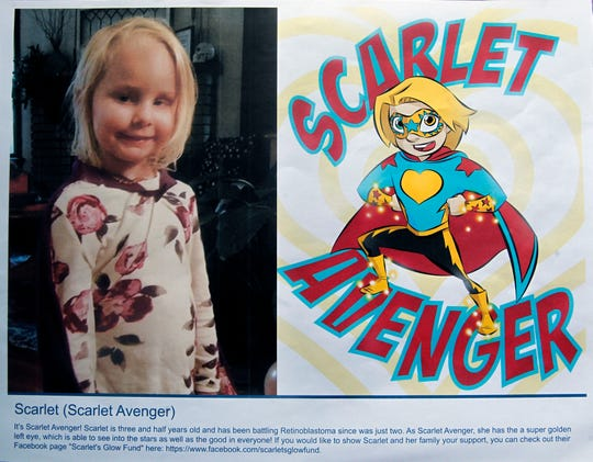 Scarlet Avenger is a superhero identity created by Bryan Dyer, owner of You Are The Hero.