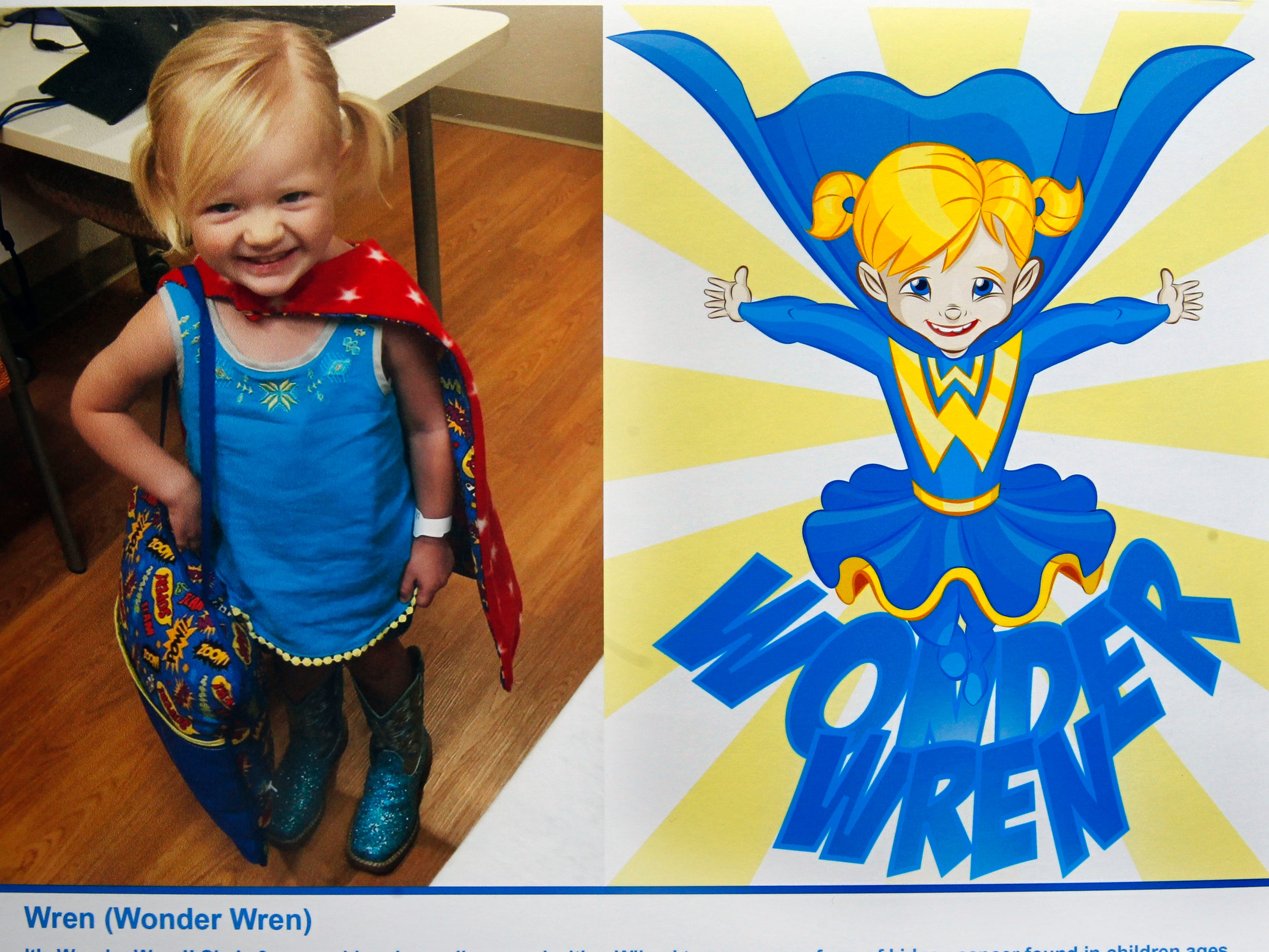 Wonder Wren is a superhero identity created by Bryan Dyer, owner of You Are the Hero.
