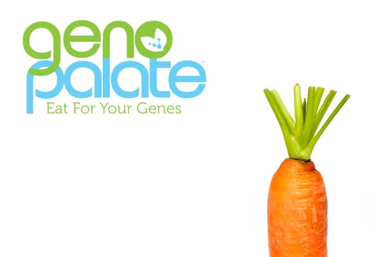Geno Palate's goal is to help people follow a healthy diet rooted in their DNA.
