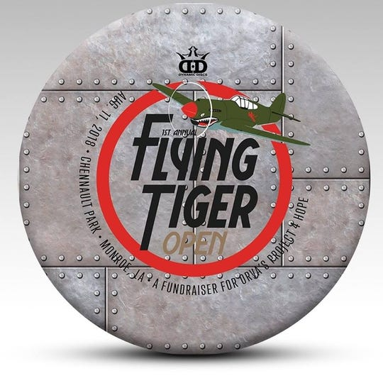 The Flying Tiger Disc Golf Open is Saturday.