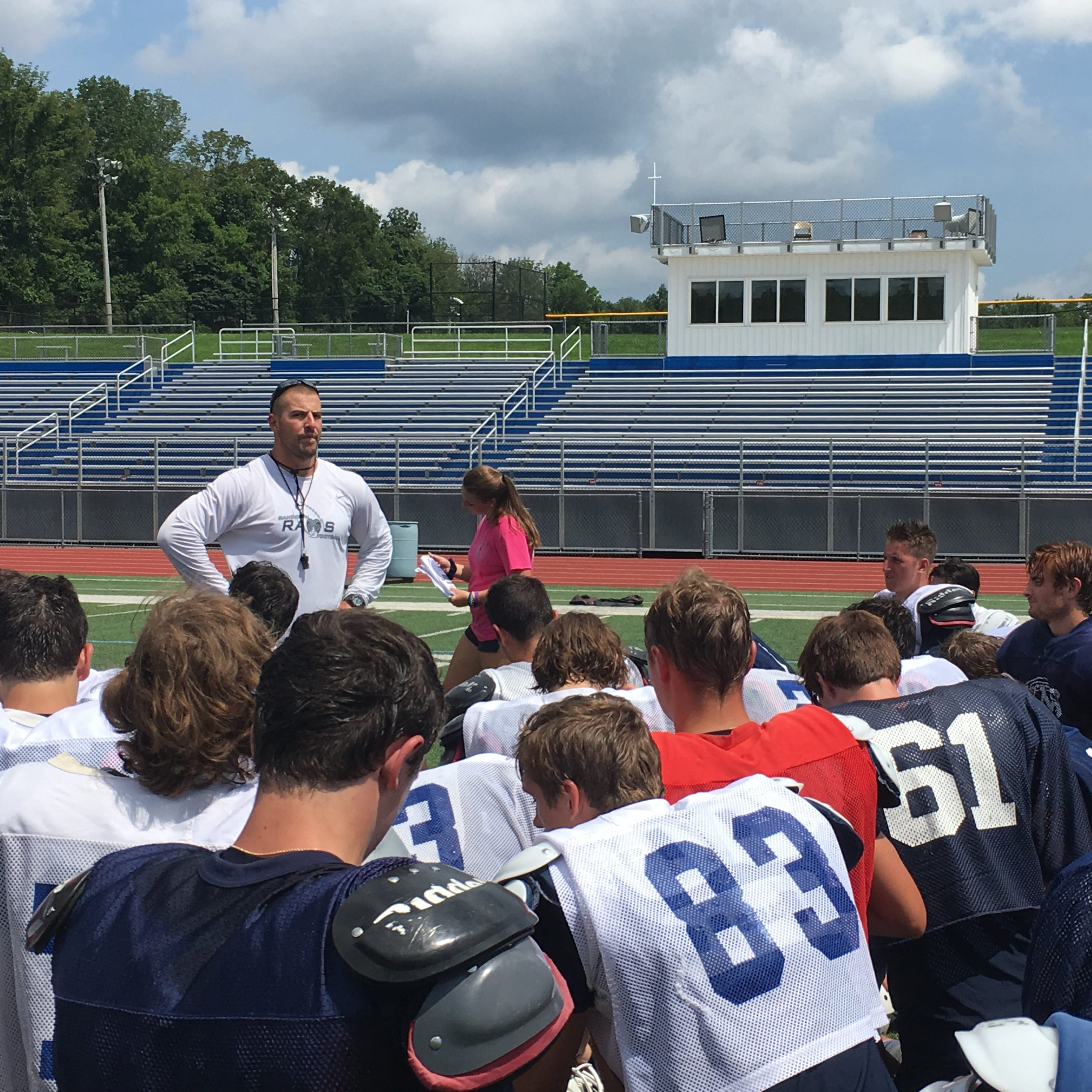 Football practice opens with enthusiasm in Morris County