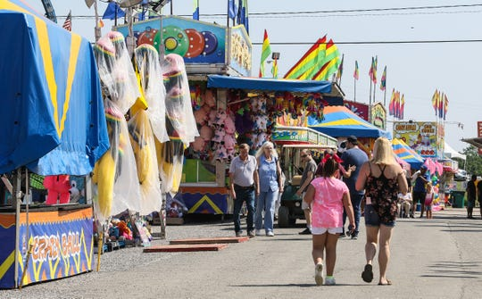 New Jersey State Fair Sussex County Farm & Horse Show in Augusta on Aug. 8, 2018.