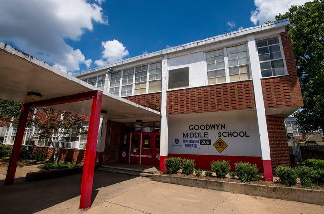 Goodwyn Middle School in Montgomery, Ala. on Wednesday August 8, 2018.