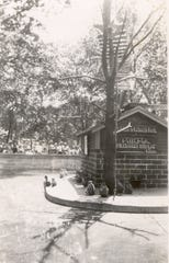 "The city of Muncie used to rent monkeys to populate ""Monkey Island"" at McCulloch Park in the summer."