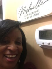 "72 degrees — Dorinda Carter, Nashville prosecutor's chief of staff. ""I keep it on 72 to accommodate my son and my mother upstairs. My bedroom is downstairs and I'm usually freezing at 72, so I sleep under a ton of blankets and with a space heater. But, the angels in the loft are nice and comfy."""