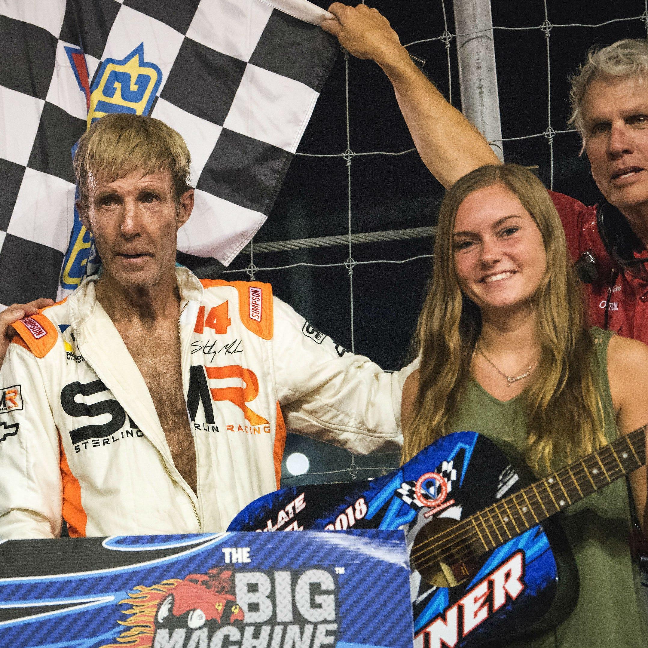 Sterling Marlin, two-time Daytona 500 winner, is treating Parkinson's disease with deep brain stimulation
