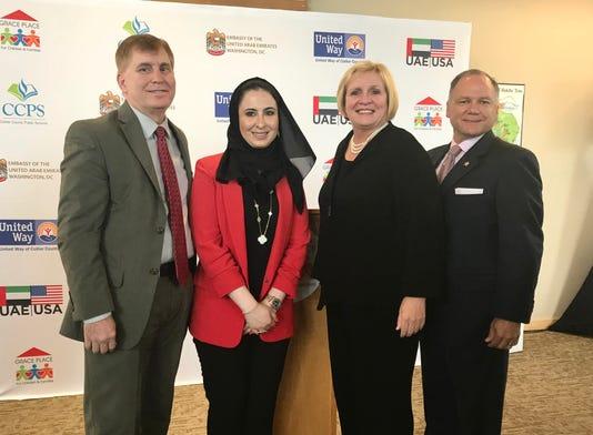 UAE Grace Place CCPS donation