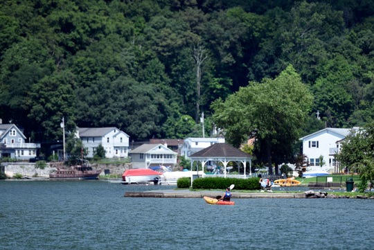 The view on Greenwood Lake from the New York side on Wednesday, August 8, 2018.