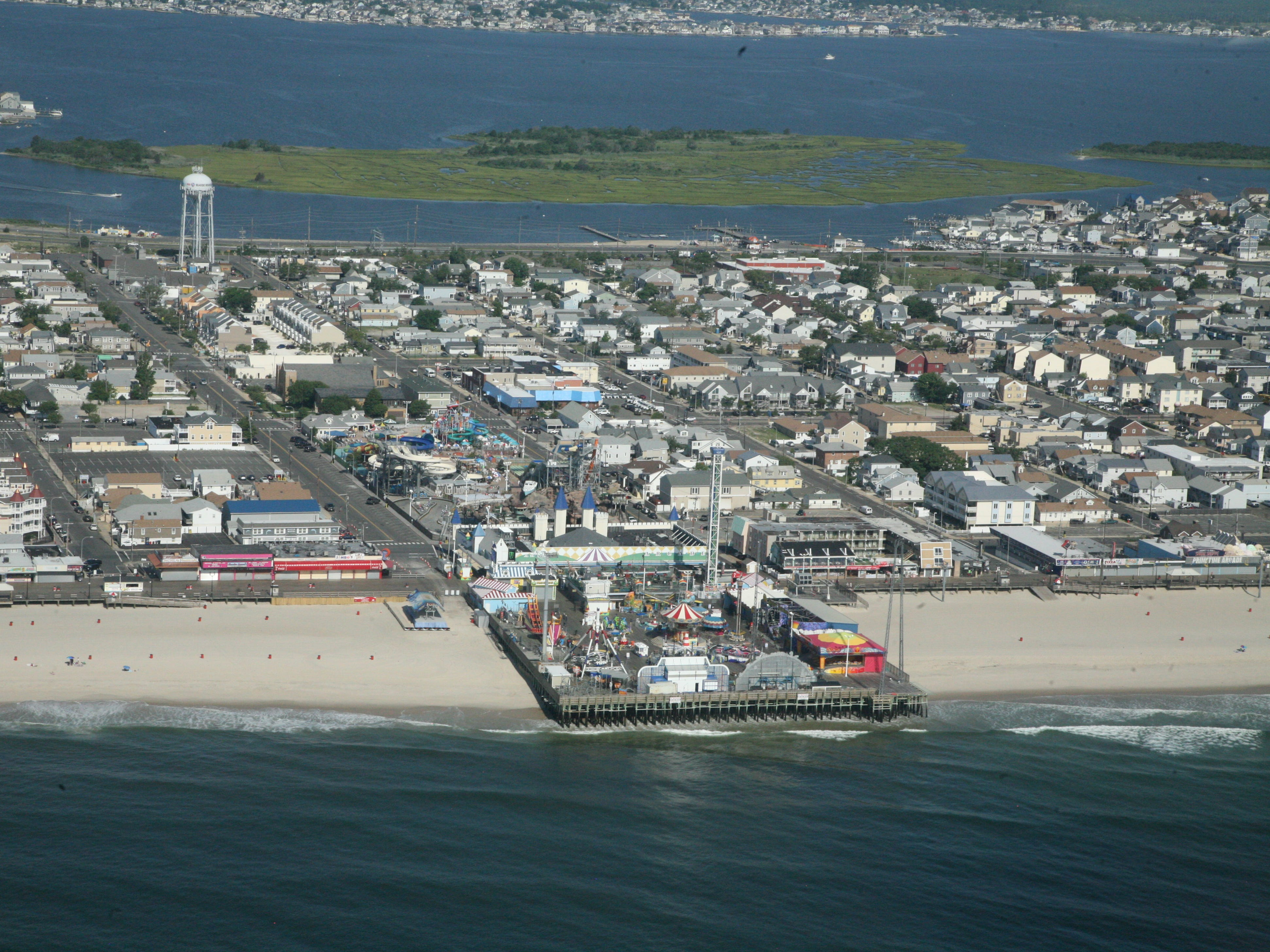 The Seaside Heights boardwalk