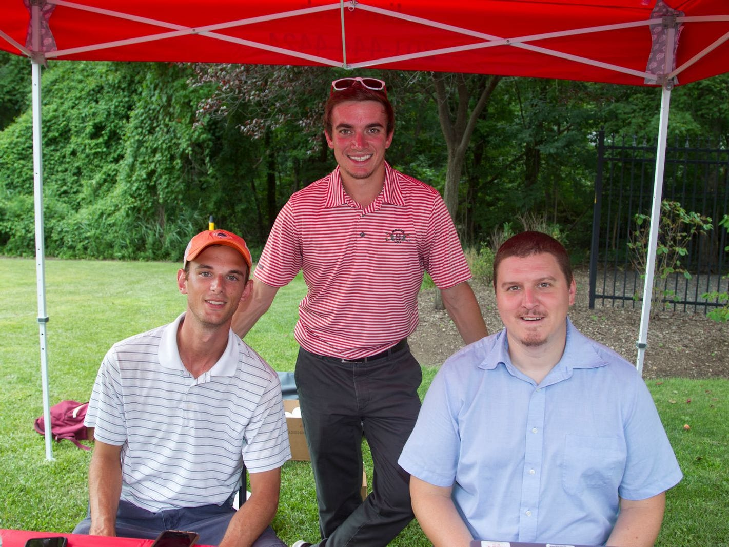 State Farm - Dillion Corbo, CJ Feinroth, Kevin Frank. Paramus National Night Out 2018 behind Paramus Library. 08/07/2018