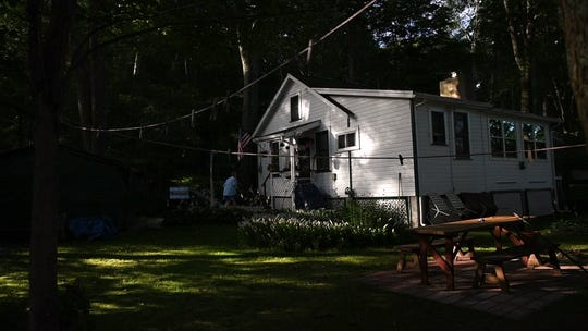 Joan LaDuke's home on Lake Gerard in Hardyston on Saturday, July 21, 2018.