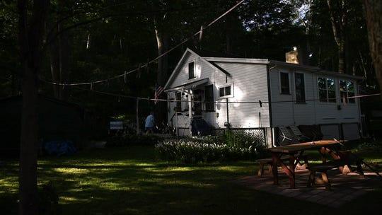 Joan LaDuke's home on Lake Gerard in Hardyston on Saturday, July 21, 2018.