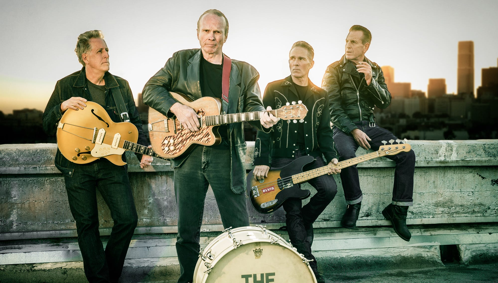 The Blasters will bring their brand of roots-rock to the Stanhope House on Sunday, August 19. The group, which formed in 1978, still features original members Phil Alvin on guitar and vocals, Bill Bateman on drums, and John Bazz on bass.