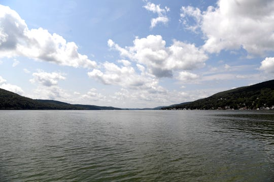 The view on Greenwood Lake on Wednesday, August 8, 2018.