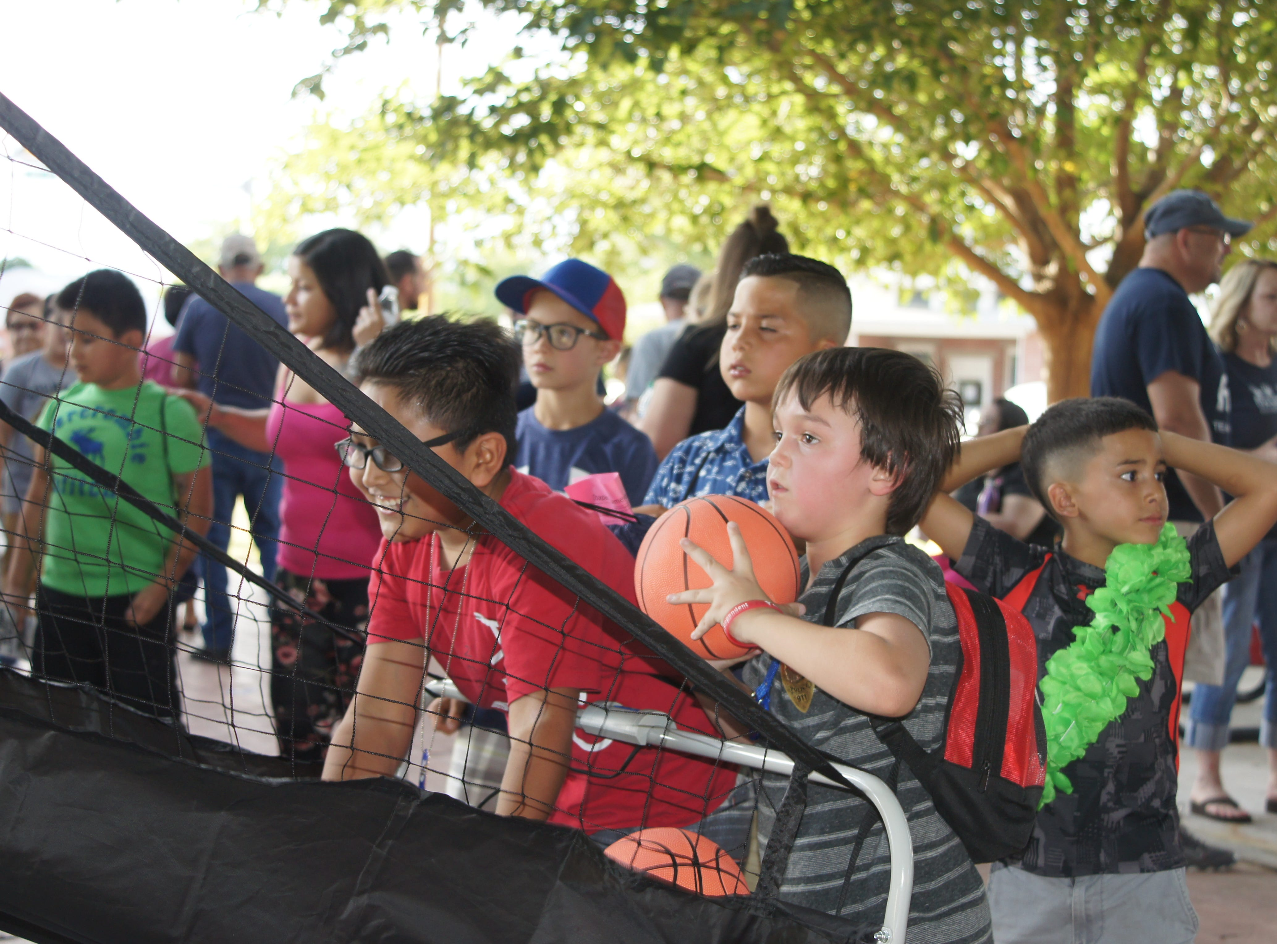 Children of all ages were treated to free games and special prizes during the second annual National Night Out held Tuesday, Aug. 7, 2018 at Luna County Courthouse Park in Deming, NM.