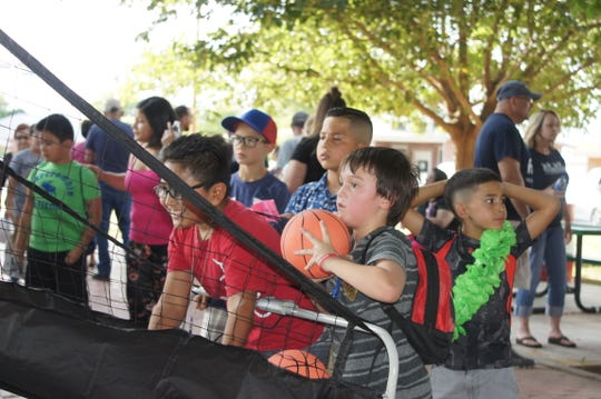 Children of all ages were treated to free games and special prizes during the second annual National Night Out at Luna County Courthouse Park in Deming, NM. This year's event is from 6 to 9 p.m. on Tuesday, Aug. 6, at the Luna County Courthouse Park.