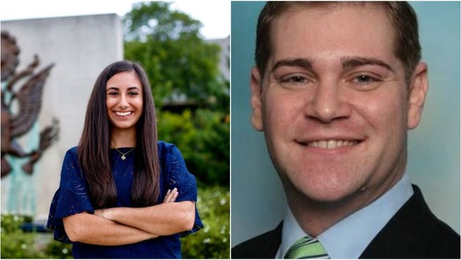 Mari Manoogian, left, and David Wolkinson will be the nominees for the 40th state House race this November.