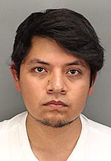 Miguel Angel Chavez Lopez, 27, of Riverside was arrested Monday morning and booked into the Byrd Detention Center in Murrieta on suspicion of lewd acts on a child, statutory rape and lascivious conduct, according to Riverside County sheriff's Sgt. Ken Reichle.